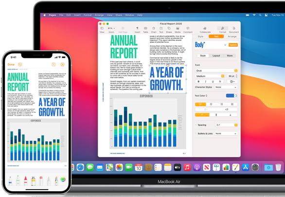 Mac and iPhone