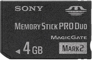 Sony Memory Stick PRO DUO Mark2, 4 GB