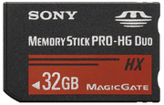 Sony Memory Stick PRO-HG Duo HX 32 GB