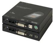 KVM Extender, DVI/HDMI, Fibre, 1 km