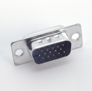 Sub-D Connector Male, 15 Pin, HD