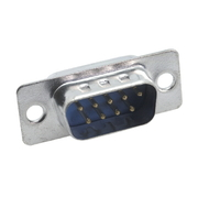 Sub-D Connector, Male, 9 Pin