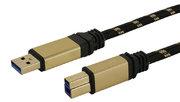 Premium USB 3.0 Cable A/M - B/M, 3 m