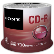 Sony CD-R 80/700 48x SP (50)