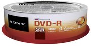 Sony DVD-R 4.7 GB 16x SP(25)