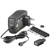ARP AC Adapter 3-12V DC, 1.5A, 9 Plugs