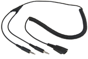 ARP Headset Cable QD to 2x 3.5mm TRS