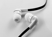 ARP In-ear Stereo Headphones, Flat Cable