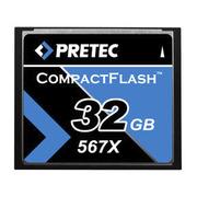 Pretec CF Card 567x 32GB