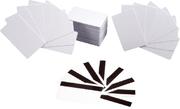 Zebra PVC-kaarten, wit, 30 mil