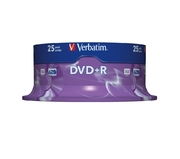 Verbatim DVD+R 4.7GB 16x SP (25)