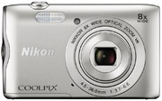 Nikon Coolpix A300 Digital Camera Silver