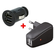 ARP Travelkit 2x USB Charger