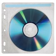 Hama CD/DVD Pockets w. Punch Holes, 40x.