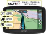 TomTom Start 52 Europe, Lifetime Maps