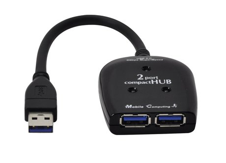 2 port usb 3 0 mini hub self powered 681580 at - Is usb 3 0 compatible with a usb 2 0 port ...