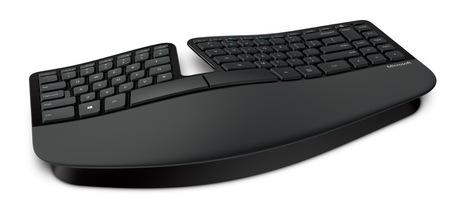 Microsoft Sculpt Ergonomic Keyboard Bus.