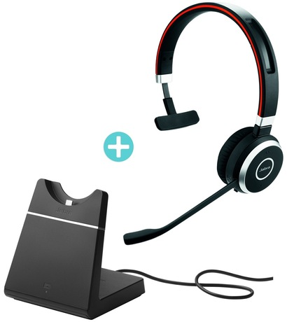 af964b8f880 Jabra Evolve 65 MS Mono Headset +Base | Telephony & GPS | ARP.nl