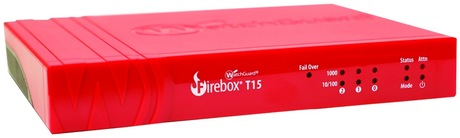 WatchGuard FIREBOX T15 WITH 1-YEAR TOTAL SECURITY SUITE (WW) + $25 COLES MYER VOUCHER