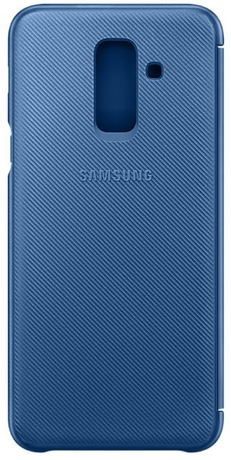 outlet store bdc40 cf049 Samsung Galaxy A6+ Wallet Cover Blue