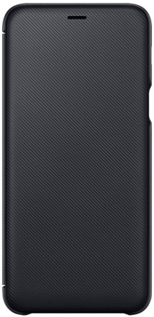 the latest 8a3fc 4dad8 Samsung Galaxy A6+ Wallet Cover Black