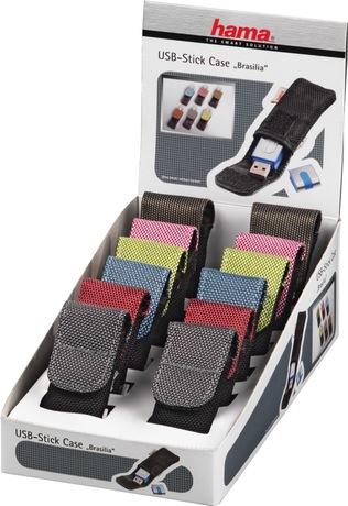 Hama Brasilia USB Stick Case Display