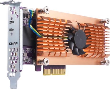 QNAP Dual M 2 PCIe SSD Expansion Card
