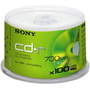 Sony CD-R80 48x, 100 Pc. Spindle Box - Thumbnail