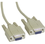 Serial Cable Link Cable DB9 F/F, 3m - Thumbnail