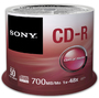Sony CD-R 80/700 48x SP (50) - Thumbnail